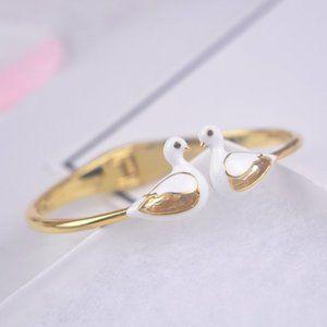 Kate Spade Mandarin Duck Enamel Color Bracelet